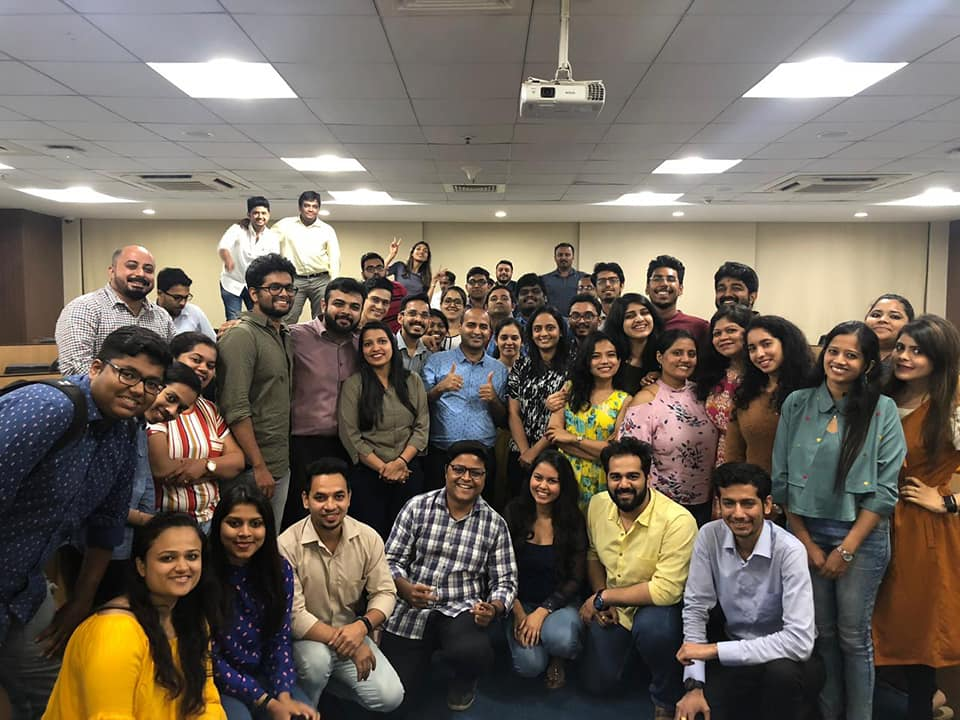 Digital Marketing Course conducted at NMIMS College by Hitesh Motwani, Digital Marketing Trainer