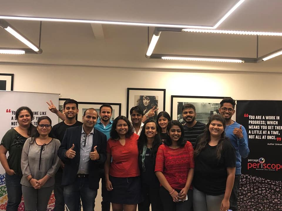 Digital Marketing Workshop conducted for Percept Ltd by Hitesh Motwani