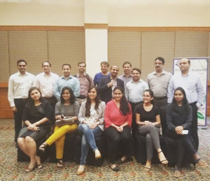 Training conducted at JW marriot on behalf of Princeon Academy