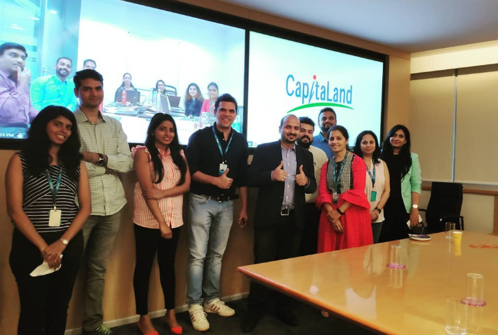 Digital Marketing Corporate Training at Capital Land in Bangalore