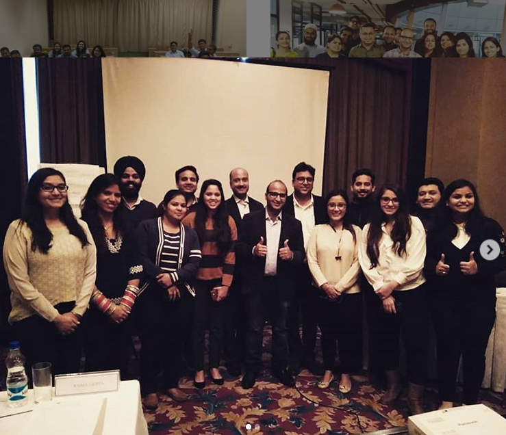 Digital Marketing Training in Delhi with various SME's and participants from various B2B organizations